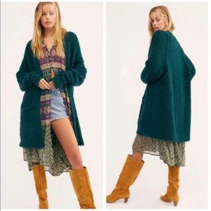 Free People Once in a Lifetime Evergreen Cardigan